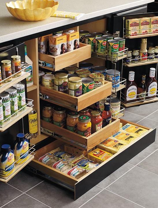 Организация хранения продуктовых запасов